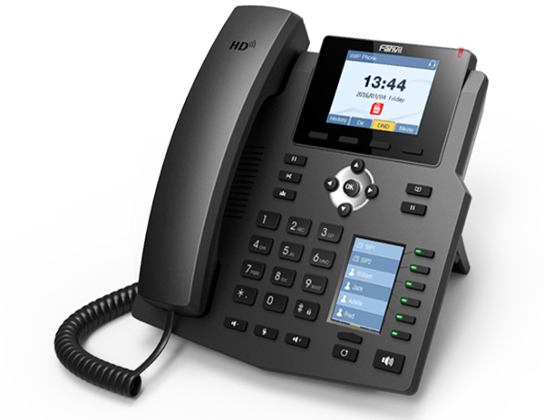 Fanvil announced New X4/G IP Phone with Colour DSS display